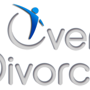 Logo for over divorce a podcast dedicated to helping men get through their divorce